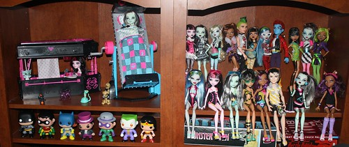 46/365 Monster High Dolls