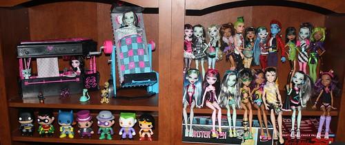 46/365 Monster High Dolls