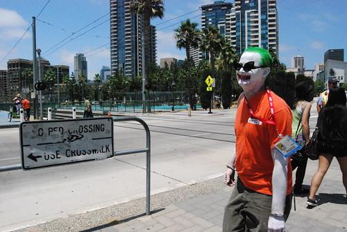 Joker on the street