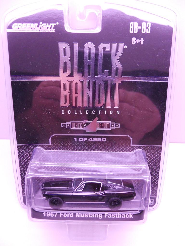 gl black bandit 1967 ford mustang fastback (1)