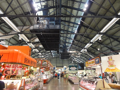 Interior of St. Lawrence Market - Toronto, Canada