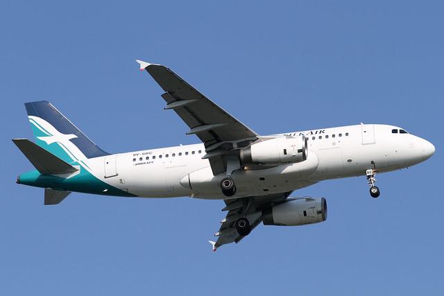 SilkAir A319-100(9V-SBC)