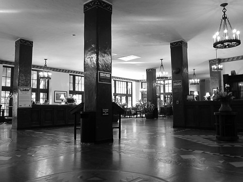 Lobby, The Ahwahnee Hotel
