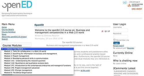 OpenEd course www.open-ed.eu
