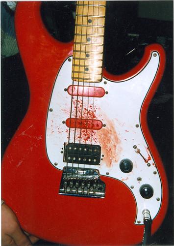 bloody guitar