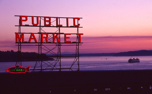 Day 230/365 - Sunset at the Public Market