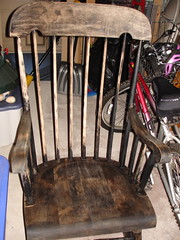 Chair, in process
