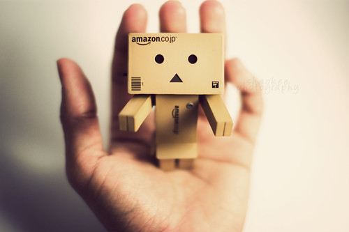 danbo says hi. by shaokee