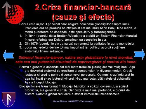 cauza crizei financiar-bancare