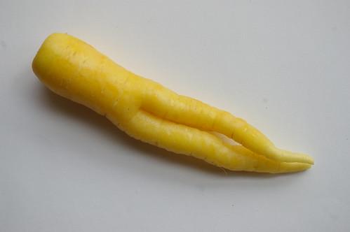 Funky white carrot