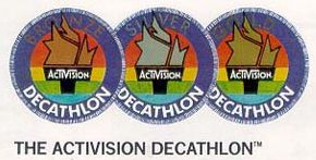 Activision Decathlon Badges