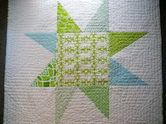Giant Wonky Star Quilt...