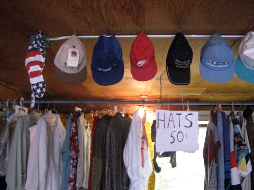 Hats, 50 cents