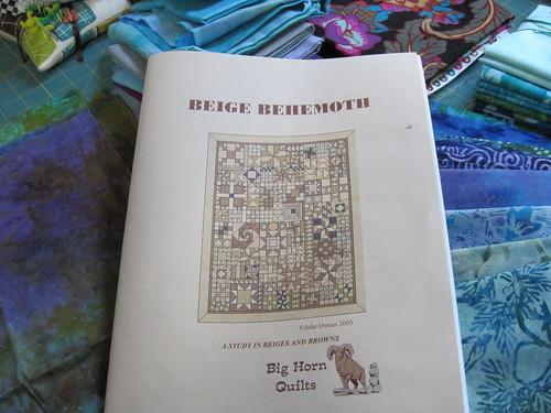 Beige Behemoth BOM pattern