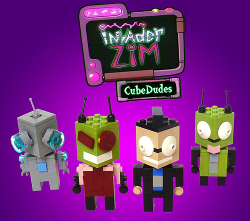 Invader Zim CubeDudes
