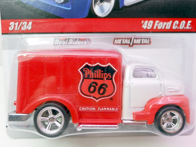 Hot Wheels delivery '49 phillips 66 ford COE (2)