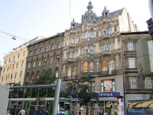 Art nouveau exterior