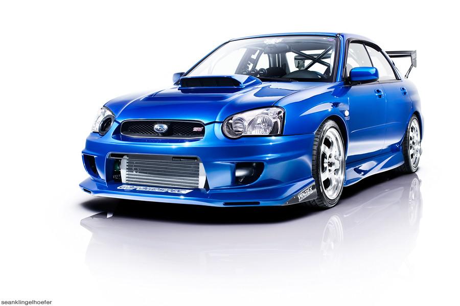 Subaru WRX STI UPC Studio Sessions