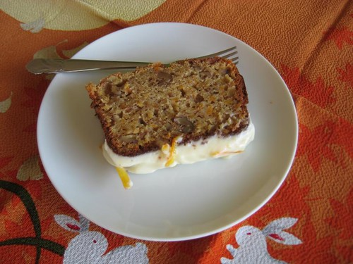 Homemade carrot cake!