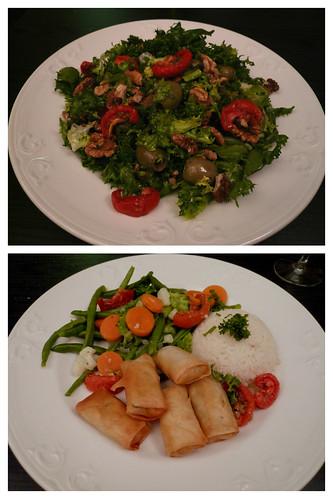 Salad & stirfry