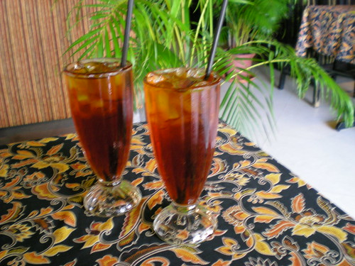 Islamic Nyonya Cafe - free iced tea
