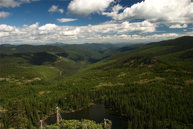 Image Lake scene