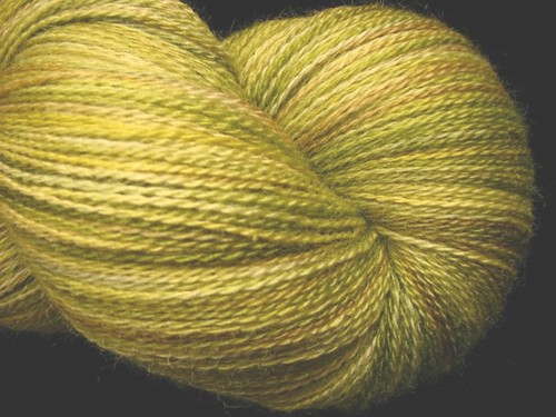 Savanna - Hand Dyed Lace Yarn - Zephyr Silk Merino