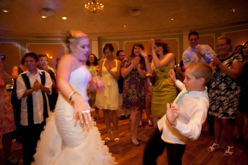 Dancing with my nephew