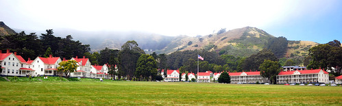 Murray Circle, Fort Baker, Sausalito, California