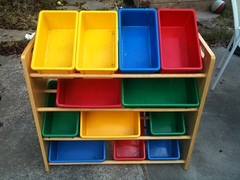 Kids toy bins by askpang, on Flickr