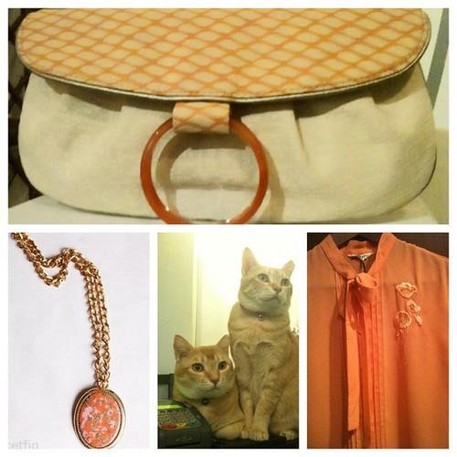 Orangey Collage