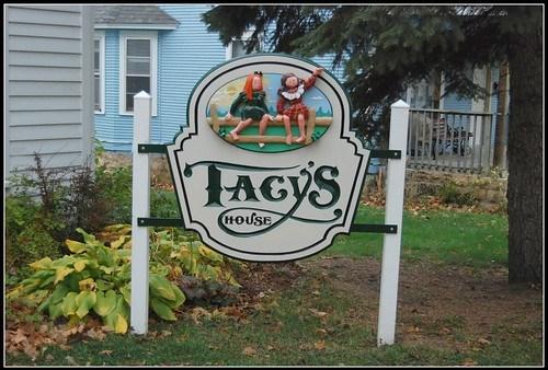 Outside Tacy's House