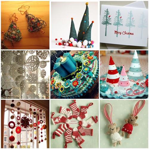 holiday inspiration mosaic