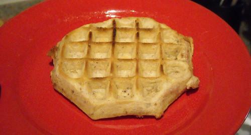 Kellogg's Eggo Thick & Fluffy Cinnamon Brown Sugar Waffle Naked