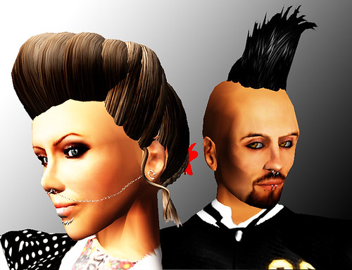 Hair Fair 2010: Hair Goodies (Psychobilly Style)