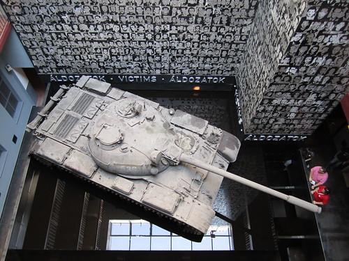Terror museum tank
