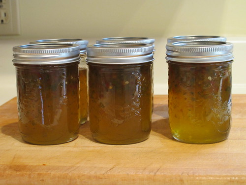 Hot and Sweet Pepper Jelly
