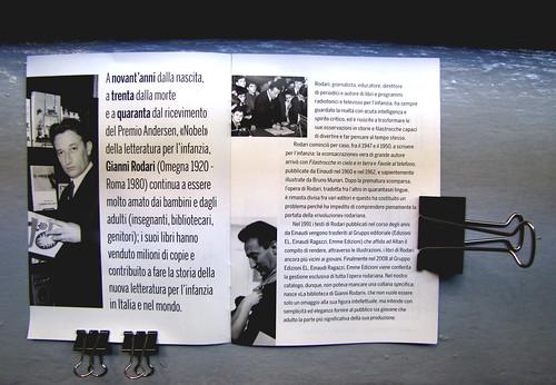 Gianni Rodari / Catalogo disponibilità ottobre 2010 (materiale pubblicitario), © 2010 Edizioni EL, San Dorligo della Valle, [p. 1-2] (part.), 1