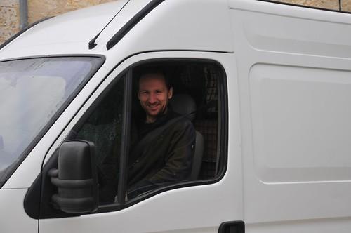big worker van