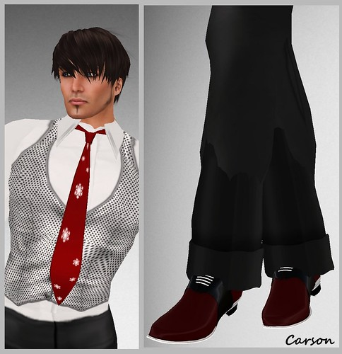 MX Designs Burgandy Formal Shoes  Group Gift ($0L)