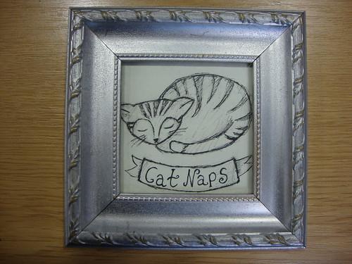 Cat Naps for Winter craft fair in Lewisham