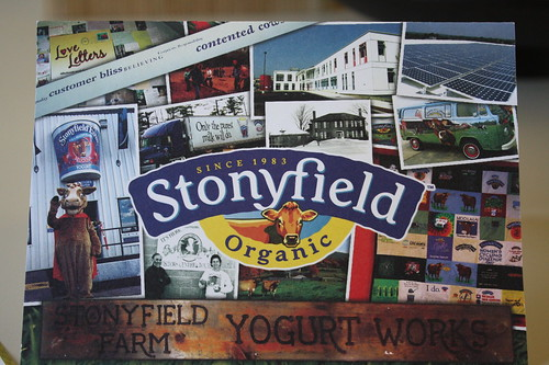 Stonyfield card