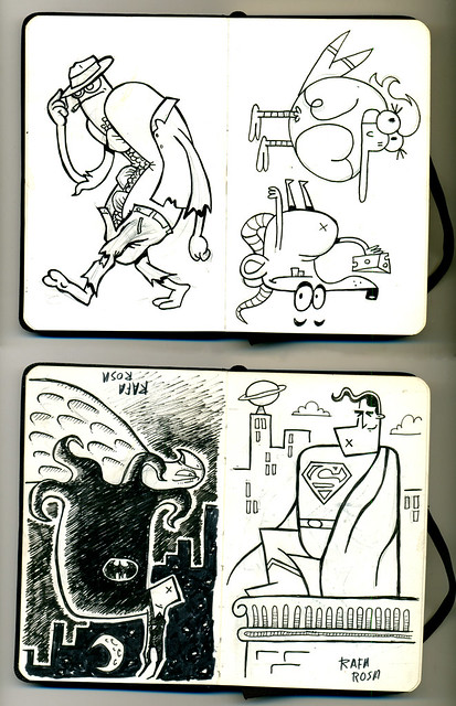 Mini sketchbook #03