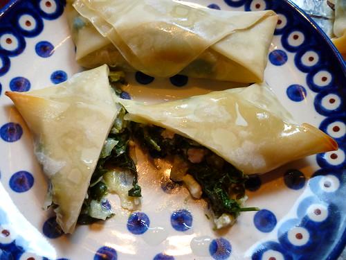 spinach & feta eggroll