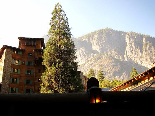 View From Outside, The Ahwahnee Hotel