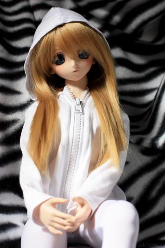 Shizuko relaxing