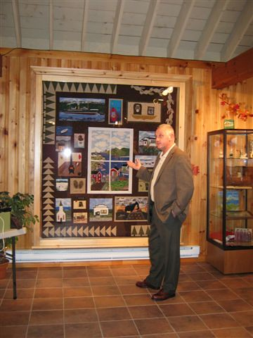 Mayor Glen Littlejohn - Quilt and Community