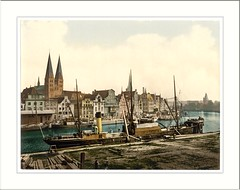 General view Lubeck Germany