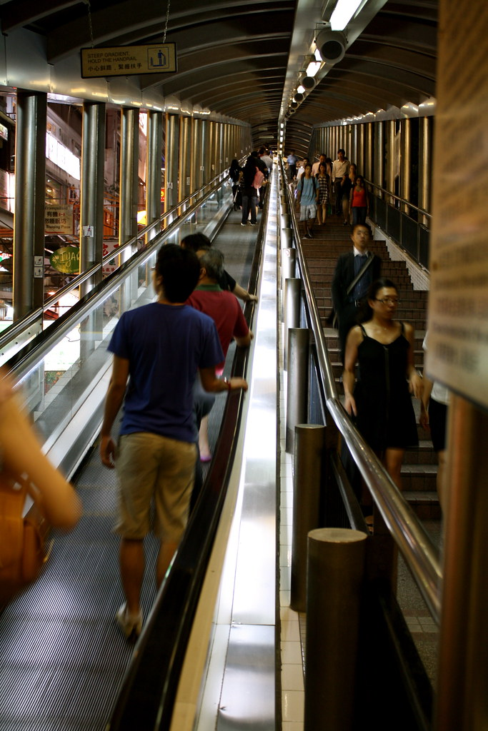 Escalator to the Midlevels