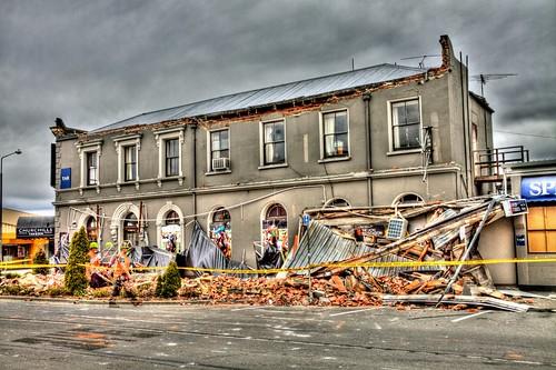 Christchurch Earthquake - Churchills Tavern
